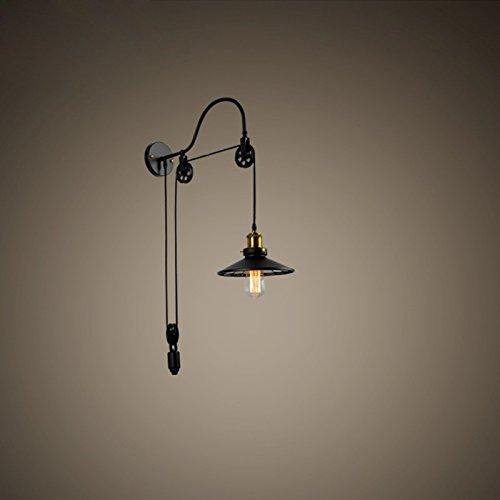 XXN-Vintage minimalista industriali lampade a parete corsia americana continentale luci