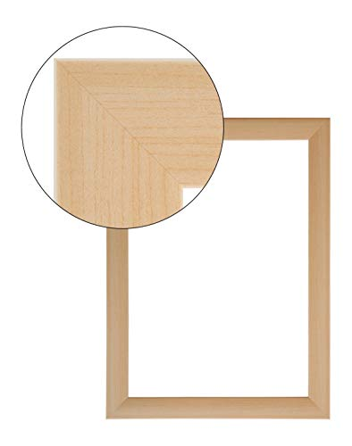 11x14 (Olimp PRORSUS 35mm Bilderrahmen 11x14 cm in Buche mit Antireflex-Acrylglas)