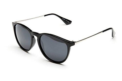 Catania Occhiali Gafas de Sol - Gafas Unisex Redondas UV400