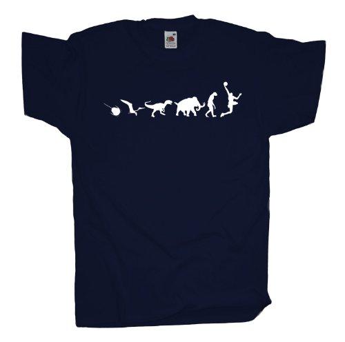 Ma2ca - 500 Mio Years - Basketballer Basketball T-Shirt Navy