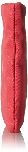 Joop Damen Nylon Cornflower Mira Cosmeticpouch Mhz Clutch, 1x14x22 cm Pink (Coral)