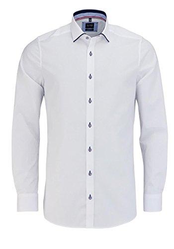 Realistisch 2019 Weiß Langarm Business Casual Shirt Slim Fit Einfarbig Französisch Manschettenknöpfe Hemd Männer Kleid Shirts Französisch Manschette Blau Hemden Herrenbekleidung & Zubehör