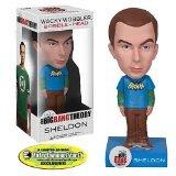 The Big Bang Theory Wacky Wobbler Bobble-Head Sheldon Batman T-Shirt 15 cm Funko heads
