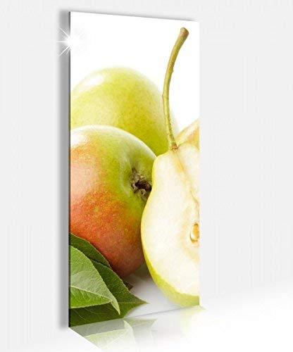 Acrylglasbild 40x100cm Birne Birnen Obst Küche Frucht Acrylbild Glasbild Acrylglas Acrylglasbilder 14A2310, Acrylglas Größe2:40cmx100cm