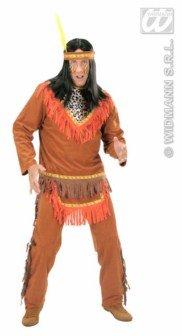 Kostüm-Set Indianer-Häuptling, Größe XL
