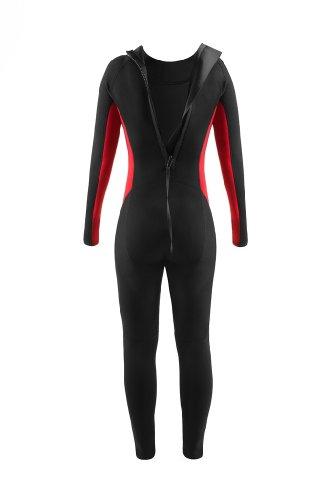 Pure Long Neoprenanzug, rot/schwarz - 2