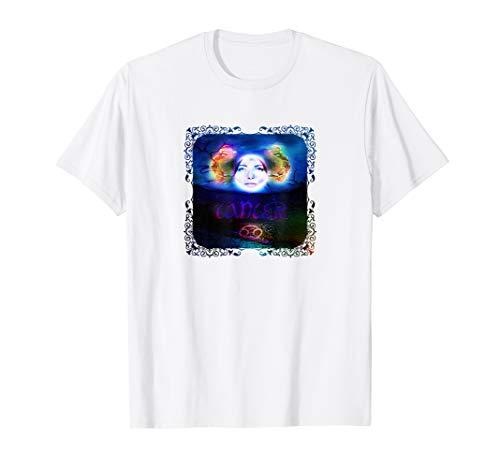 Krebs Horoskop Sternzeichen T-Shirt - Krebs Frauen T-shirt