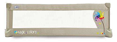 Asalvo 151504 - Barrera de cama 150 cm para bebés, diseño molinillo,...