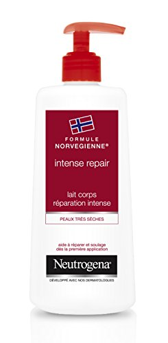 Neutrogena Intense Lait Corps Réparation Intense Pompe 400 ml