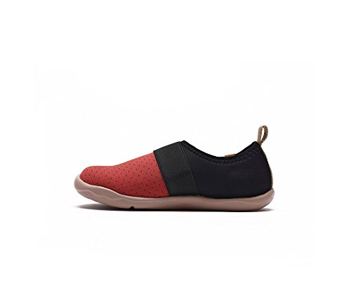 UIN chaussure de slip-on de voyage de Bejer Microfibre des enfants (enfant grand) Rouge