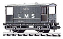 Peco nr-48m Bremse van LMS grau