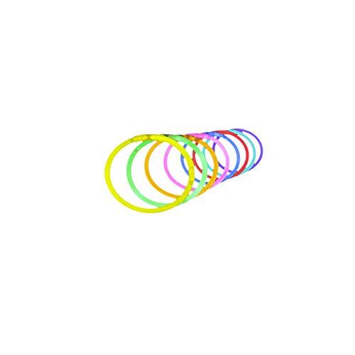 Sungpunet Glow Sticks Glow Halskette Glowstick Bundle Partei Armbänder Durchlässiger Fluorescent Rods für Night Party 1Set