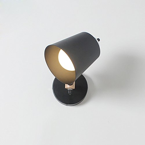 TOTO-européen et américain minimaliste salon lampe de mur allée lampe de chevet étude de chambre créative réglable éclairage hotte mur de fer bougeoir