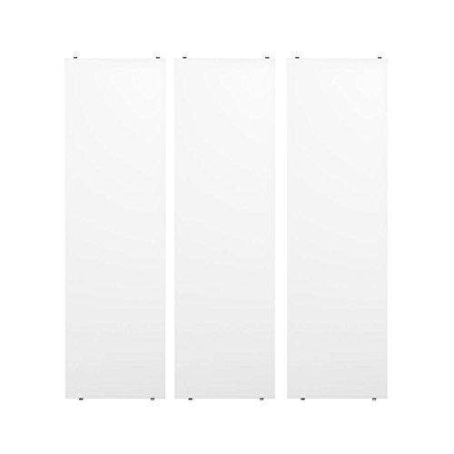Unbekannt String - Regalboden 78 x 30 cm (3er-Pack), weiß