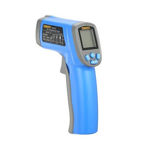 HYTAIS TS550 Digital-Infrarot-Handheld Temperatur Gun Thermometer Industrie mit berührungsloser IR-Laser-Punkt-LCD-Hintergrundbeleuchtung (Farbe: blau)