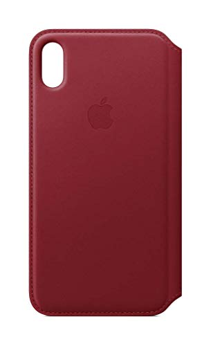 Apple Leder Folio (iPhone XS Max) - (PRODUCT) RED -
