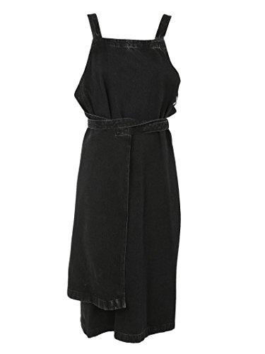balenciaga-femme-458284tue141973-noir-coton-robe