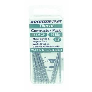 Roto Zip TC4 1/8-Inch Tile-Cutting Carbide Zip Bits, by RotoZip