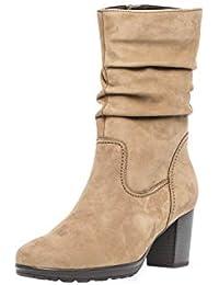 Amazon.es  Piel - Botas   Zapatos para mujer  Zapatos y complementos 1b2cb9572597f