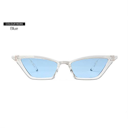 1cc788c3a9cd ZHOUYF Gafas de Sol Sexy Cat Eye Sunglasses Women 2018 Jelly Color Gafas De  Sol Hombres