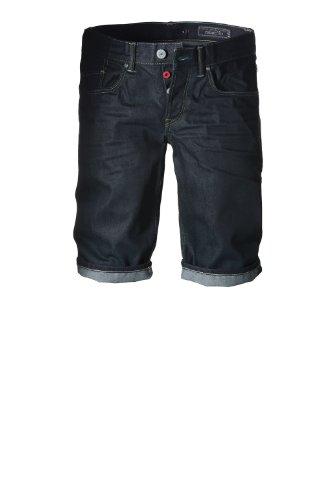 ... edc by ESPRIT Herren Shorts Jeans Bermuda - Straight Fit 994CC2C903 Blau  (C RINSE USED