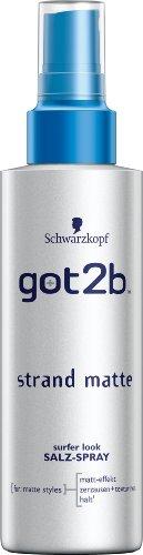 Got2b Strandmatte texturierendes Salz-Spray Halt 3, 3er Pack (3 x 150 ml)