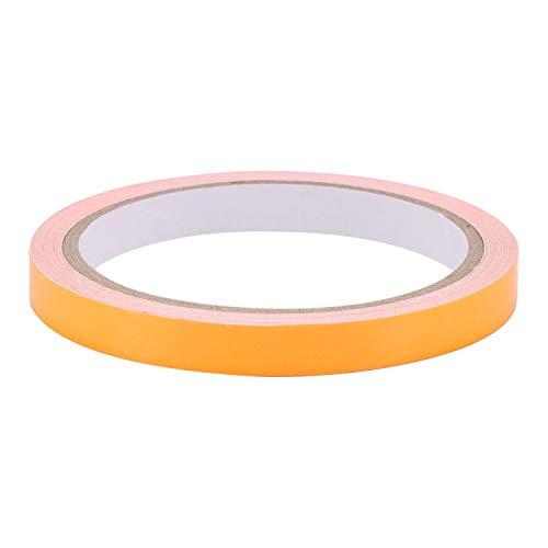 Universal Fahrrad-Aufkleber für Rennrad, Mountainbike, Felgen-Aufkleber, Schutz für Camping Werkzeug, Sicherheitswarnung, reflektierendes Leuchtband, orange