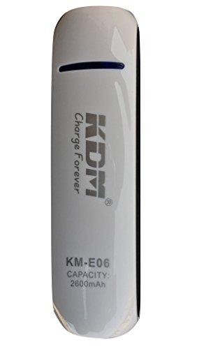 Prism QUALE km-06 2600mAH Power Bank compatible with Xiaomi Redmi Mi Note 4 Prime / 4A / 2 Prime / 3 16GB / 3 32GB / 3 Pro 16GB / 4 / 4G / 4X / 5 / Prime / Pro