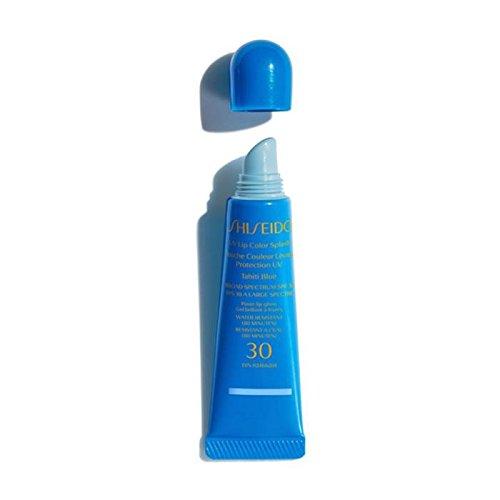 Red Glossy Lip Care (Shiseido Sun Care - UV Lip Color Splash SPF30, Uluru Red, 10 ml)