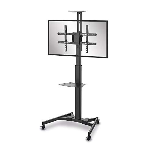 PureMounts PM-CART-70B TV Standfuß für LCD/LED/Plasma Bildschirme von 94-178 cm (37-70 Zoll) schwarz -