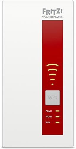AVM FRITZ!WLAN Repeater 1160 (Dual-WLAN AC + N bis zu 866 MBit/s 5 GHz + 300 MBit/s 2,4 GHz), geeignet für Deutschland - 3