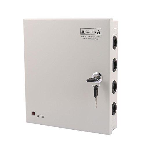DealMux AC 100-120V zu DC 12V 15A 9CH Schaltnetzteil Switch Box für CCTV-Kamera Kamera Switch Box