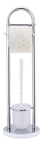 WENKO Stand WC-Garnitur Siena Chrom - 2