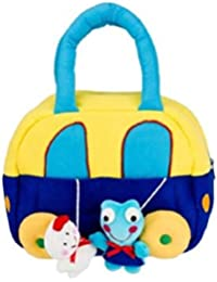 KIDZVILLA® Designer CAR Carry Bag/Mother Care Bag/Travelling Bag/Baby Care Bag/Diaper Bag (Blue_Multi)