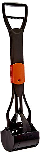PET PARADISETM Jaw Clamp Poop, Litter Scooper(26-Inch) for Large Dogs, Small Dogs, Puppies, Cats (Colour May Vary)