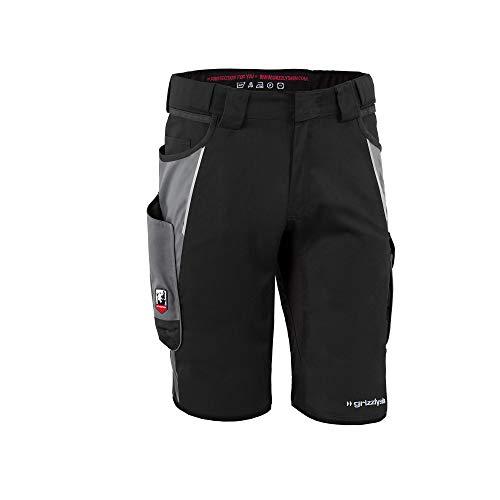 Grizzlyskin Workwear Herren Shorts Iron Farbe: schwarz/grau; Größe: N56