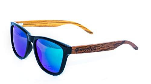 WoodEyez - DIE Holz-Sonnenbrille - unisex - UV 400 Cat 3 - Polfilter - Holzbügel - hochwertige...