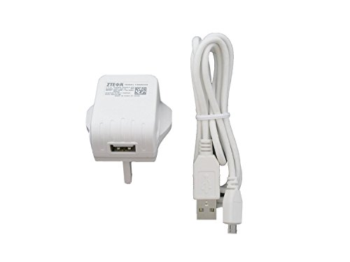ZTE STC-A51-B USB-Adapter und Datenkabel (1 A) Weiß (Zte Adapter)
