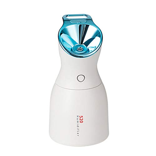 Mini humidificateur, Humidificateur ultrasonique de Brume fraîche avec la Lampe de désinfection de lumière Pourpre LED Nuit lumière USB Domestique Grande capacité humidificateurs,Blue