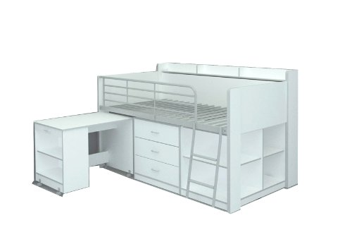 Rack Furniture Accesorio Muebles Clairmont Loft Cama