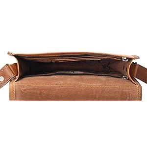 31bG5lBmonL. SS300  - Gusti Bolso de Piel - Summer Bolso Bandolera de Cuero marrón pequeño