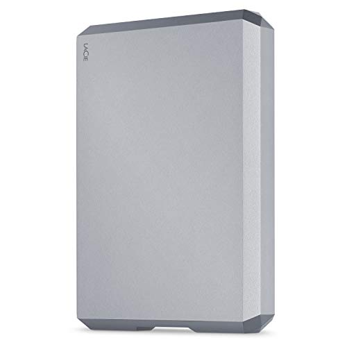 LaCie Mobile Drive USB-C 5TB Space Grey