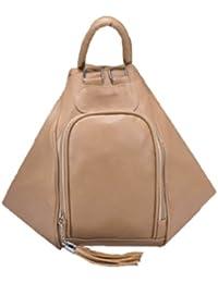 le sac à dos de aimerfeel 3 façons femme de couleur beige et noir