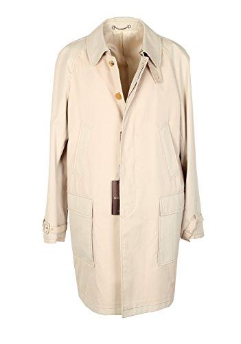 CL - Gucci Beige Rain Coat Size 48 / 38R U.S. In Cotton