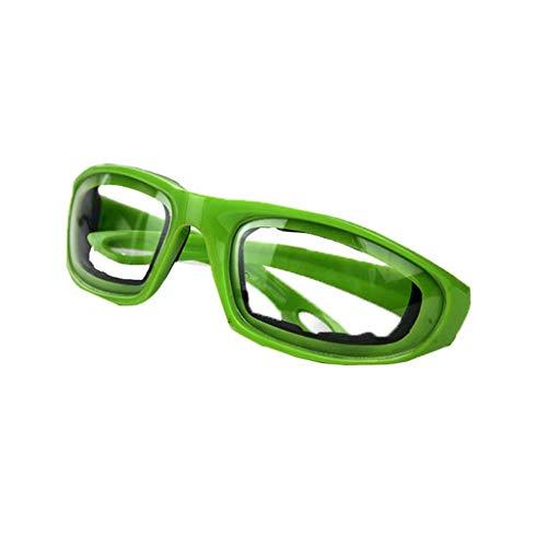 Hniunew Küche Schutzbrille Unisex Diamant Gläser Schneiden Zwiebel Spezialgläser schneiden Verdicken Gläser Chefkoch Balken Vintage Unregelmäßige Augenschutzbrille Vollformat-Brille