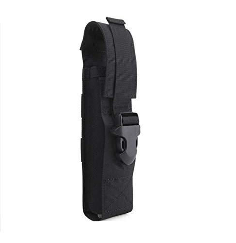 Huenco Tactical Camo MOLLE Flashlight Holster Nylon Combat Molle Electronic Torch Muti Tool Pouch