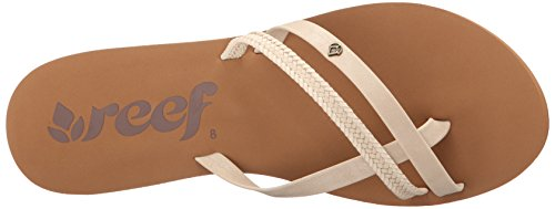 Reef O'Contrare Lx, Tongs Femme Beige (Cream)