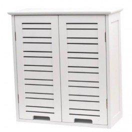 Meuble Haut 2 portes de salle de bain - Style épuré