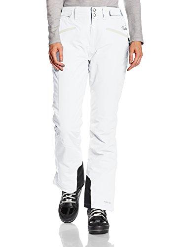 Protest Damen Pantalon de ski Kensington  Weiß(401 Seashell) medium Beige