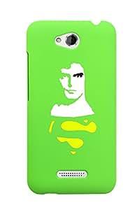 KolorEdge Back Cover For HTC Desire 616 - Green (2875-Ke15073HTC616Green3D)